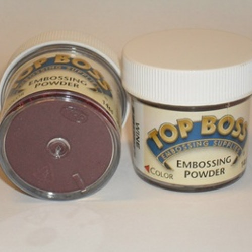 TopBoss, Embossing pulver, Wine