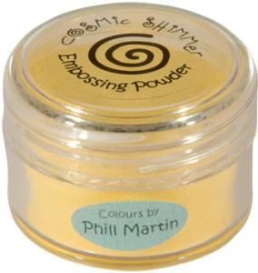 Cosmic Shimmer Lustre Emboss Powder Graceful Mustard