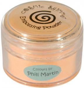 Cosmic Shimmer Lustre Emboss Powder Graceful Peach