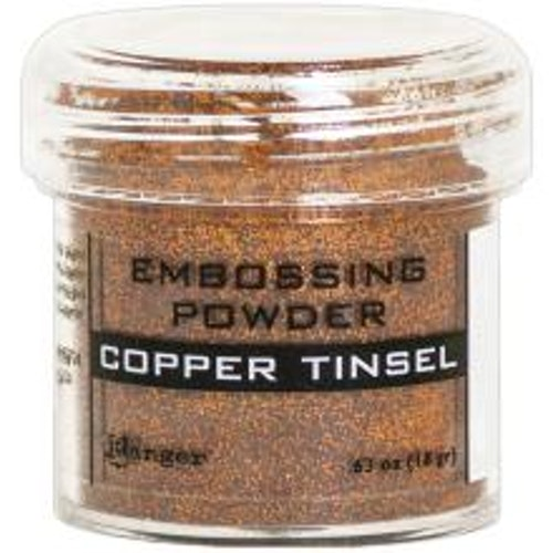 Embossing powder, Ranger - Copper Tinsel