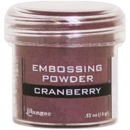 Embossing powder, Ranger - Cranberry