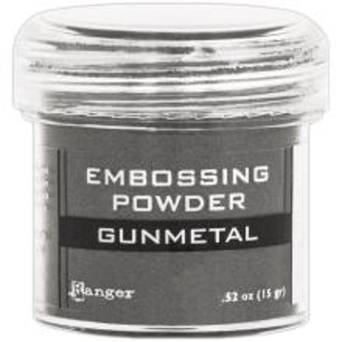 Embossing powder, Ranger - Gunmetal