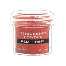 Embossing powder, Ranger - Red Tinsel