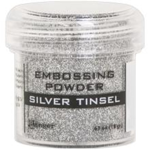 Embossing powder, Ranger - Silver Tinsel