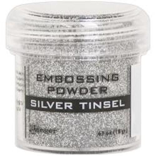Embossing powder, Ranger - Silver Tinsel