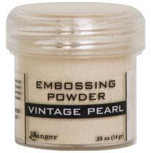 Embossing powder, Ranger - Vintage Pearl