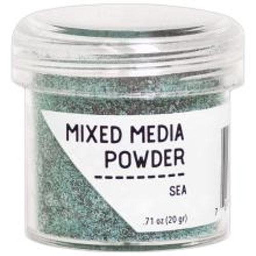 Mixed media powder, Ranger - Sea