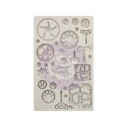Prima Finnabair Decor Moulds 5X8 - Mechanica