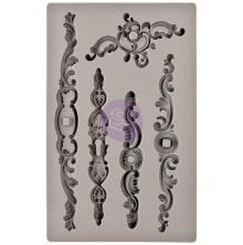 Prima Iron Orchid Designs Vintage Art Decor Mould 5X8 - Louis