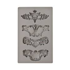 Prima Iron Orchid Designs Vintage Art Decor Mould 5X8 - royale