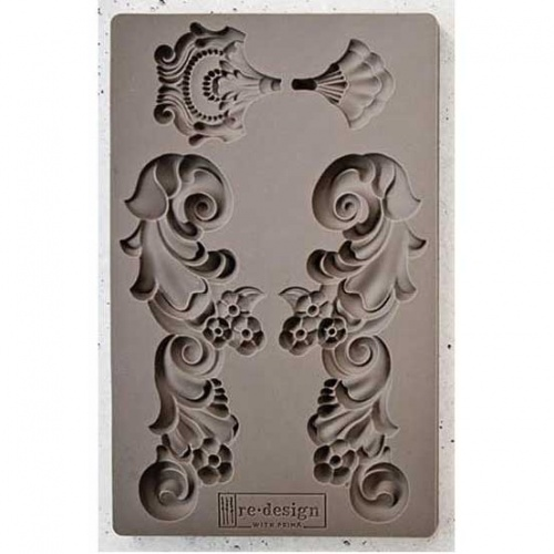 Prima Iron Orchid Designs Vintage Art Decor Mould 5X8 - Groeneville crest