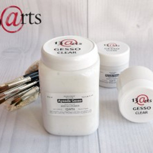 13arts Gesso Clear - acrylic primer 500 ml