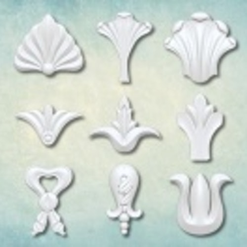 ProSvet Silikonform, Set Decorative elements