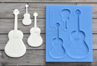 ProSvet Silikonform, Set Guitars