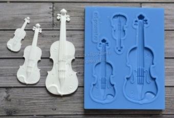 ProSvet Silikonform, Set Violin