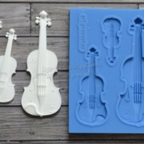 ProSvet Silikonform, Set Violin md0139