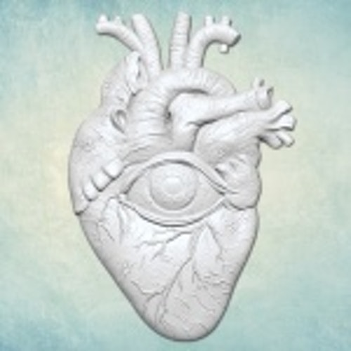 ProSvet Silikonform, Heart with eye M
