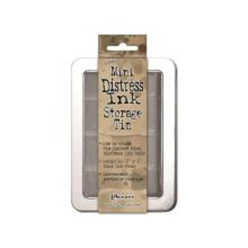 Tim Holtz/Ranger Mini Distress Ink Storage Tin