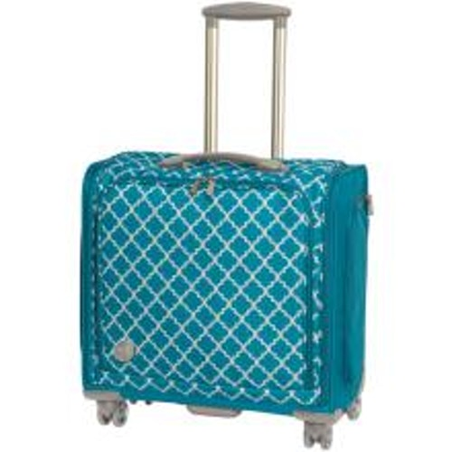 We R Memory Keepers 360 Crafters Rolling Bag 18X20X12 - Aqua