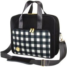 We R Memory Keepers Crafters Shoulder Bag - Black Plaid