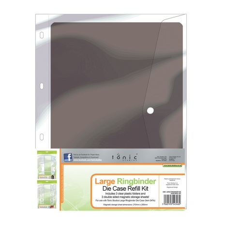 Tonic Studios Ringbinder Die Case Refill - A4 Large 348E