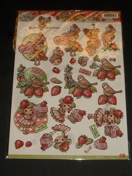 3D klippark, YC10221, jordgubbar