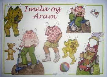 """Klippark THM """"Imela och Arams kläder"""""""