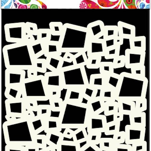 """DDBD MASK STENCIL 15x15cm """"Squares"""""""