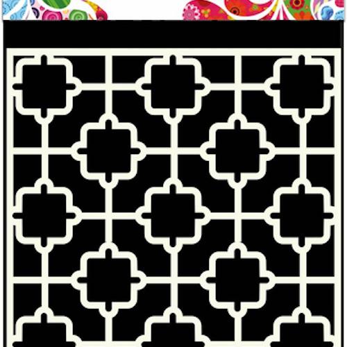 DDBD Mask Stencil 15x15cm tile
