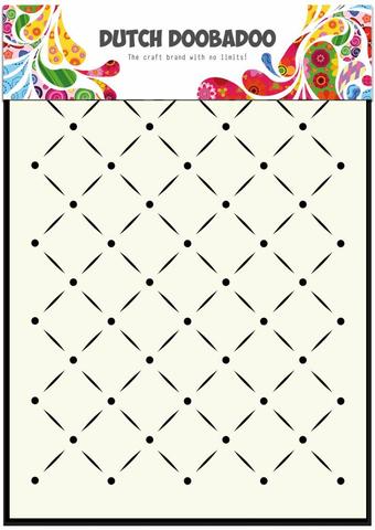 DDBD Mask Stencil Stripes and dots