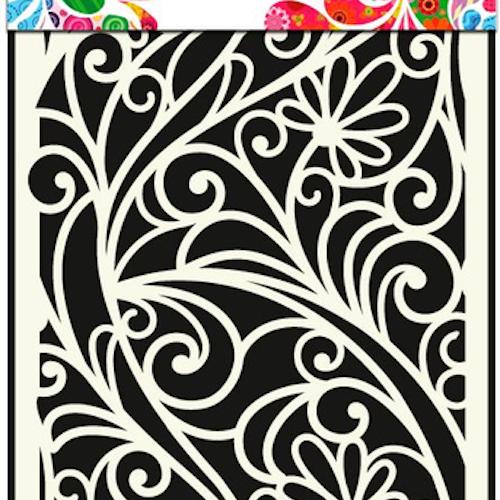DDBD Mask Stencil A5 Flower Window