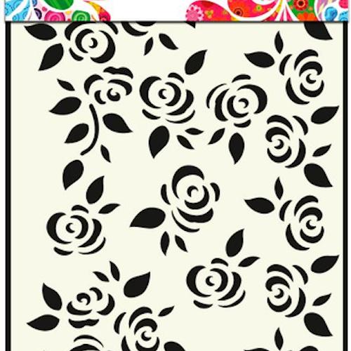 DDBD Mask Stencil A5 Roses