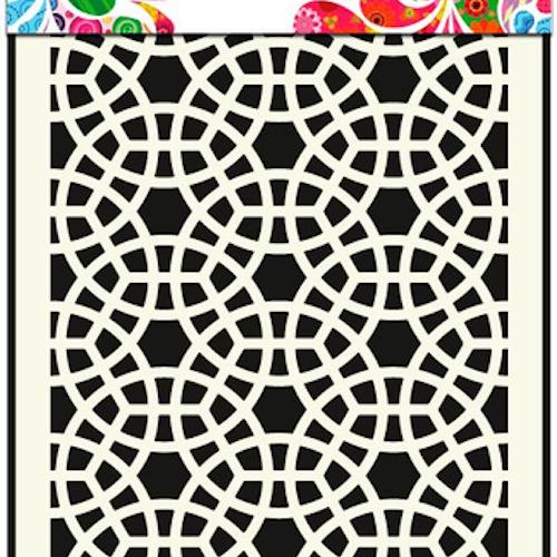 DDBD Mask Stencil A5 Mosaic