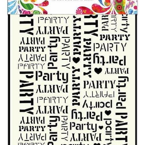 DDBD Mask Stencil A5 Party