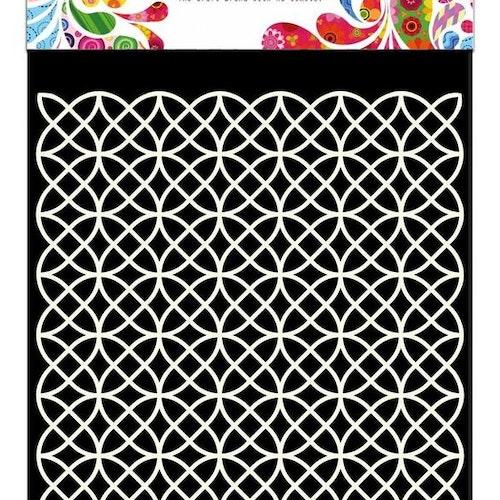 DDBD Mask Stencil 15x15 cm Geometric