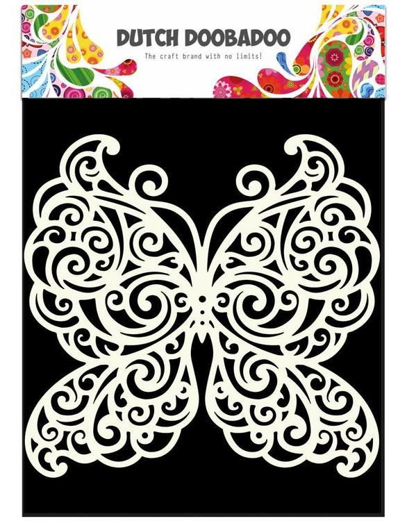 DDBD Mask Stencil 15x15 cm Butterfly