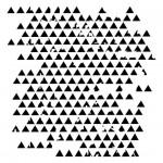 13arts Mask Stencil 15x15cm Triangles