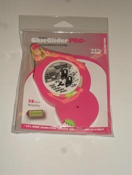 Glue glider Pro+, Refill kassett rosa 58 feet