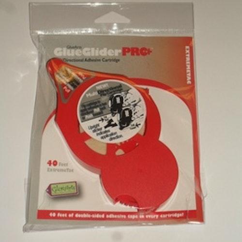 Glue glider Pro+, Refill kassett röd 40 feet extra strong
