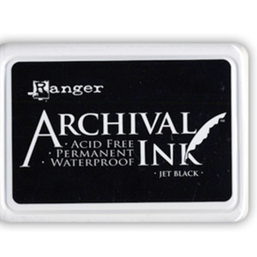 Archival Inkpad, Jet Black