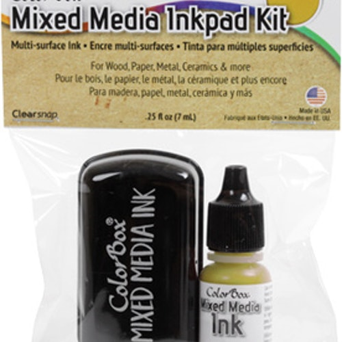 ColorBox Mixed Media Inkpad Kit - Khaki