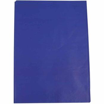 Silkespapper, 50x70, 25 ark, blå