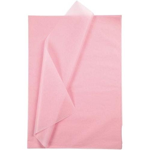 Silkespapper, 50x70, 25 ark, rosa