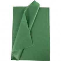 Silkespapper, 50x70, 25 ark, grön