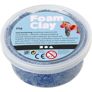 Foam Clay®, blå, 35g