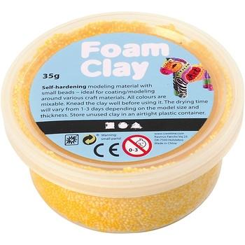 Foam Clay®, gul, 35g