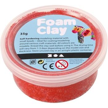 Foam Clay®, röd, 35g