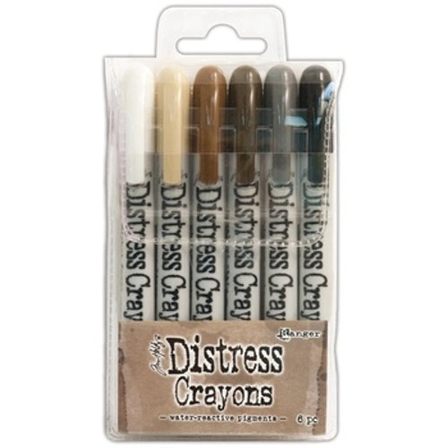 Distress Crayons, set no 3