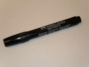 Faber Castell, Aqua Plus 55, black