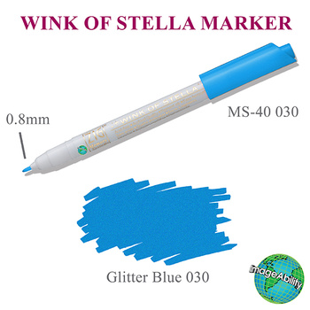 Wink of Stella Marker, Blue